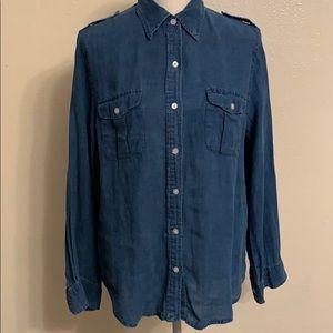 Lauren Jeans linen shirt